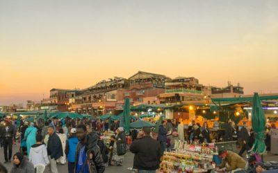 Reisetipps Marokko, Marrakech, Djemaa el Fna, Markt, Hauptplatz