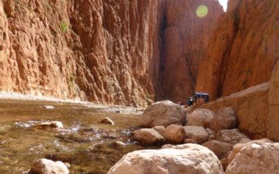 Todre-Schlucht, Marokko