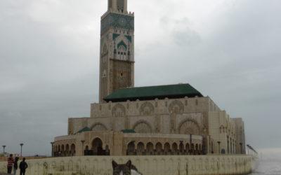 Hassan II Mosque, Casablanca, Marocco