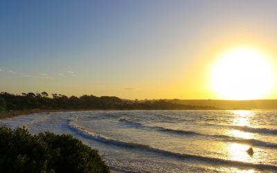 Devonport, Tasmanien Sonnenuntergang