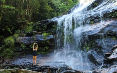 Blue Mountains National Park, Australien - Wasserfall
