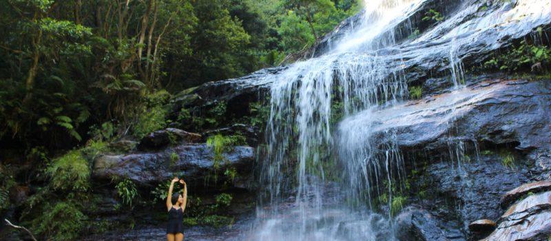 Blue Mountains National Park, Australien - Wasserfall