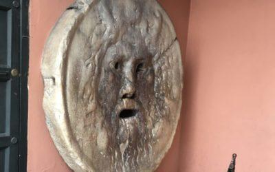 Mund der Wahrheit - Rom, Italien