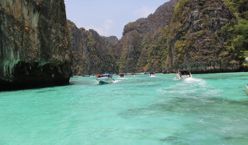 Wasserstraße zu Phi Phi Leh