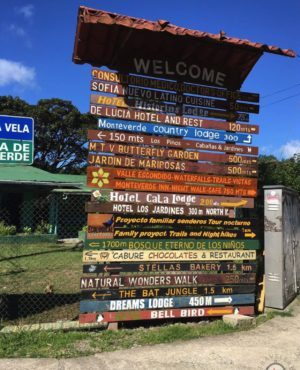 Monteverde Schilder