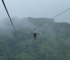 Zip Lining (Canopy) Costa Rica: Monteverde