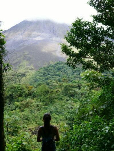 Ausblick auf den Vulkan Arenal