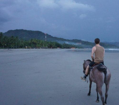 Horseback Riding zum Sonnenuntergang