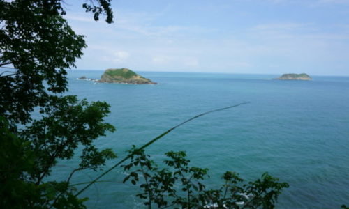 Manuel A. Nationalpark: Blick auf das Meer