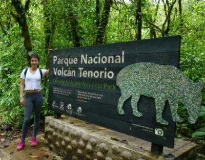 Eingang zum Nationalpark Tenorio
