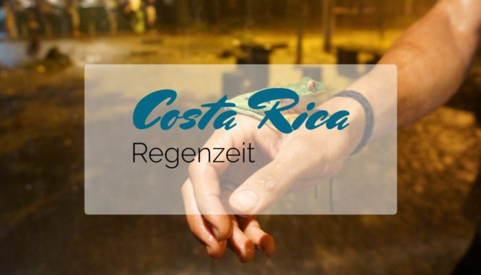 Costa Rica Regenzeit Titelbild