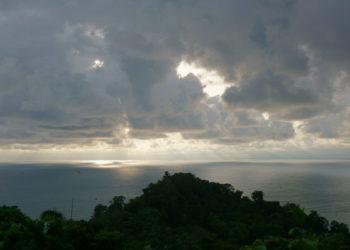 Wolken am späten Nachmittag Costa Rica