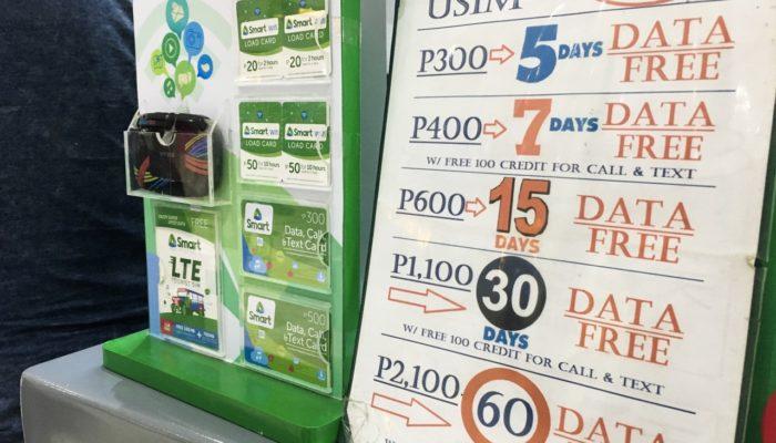 Philippinen Reisekosten Sonstiges