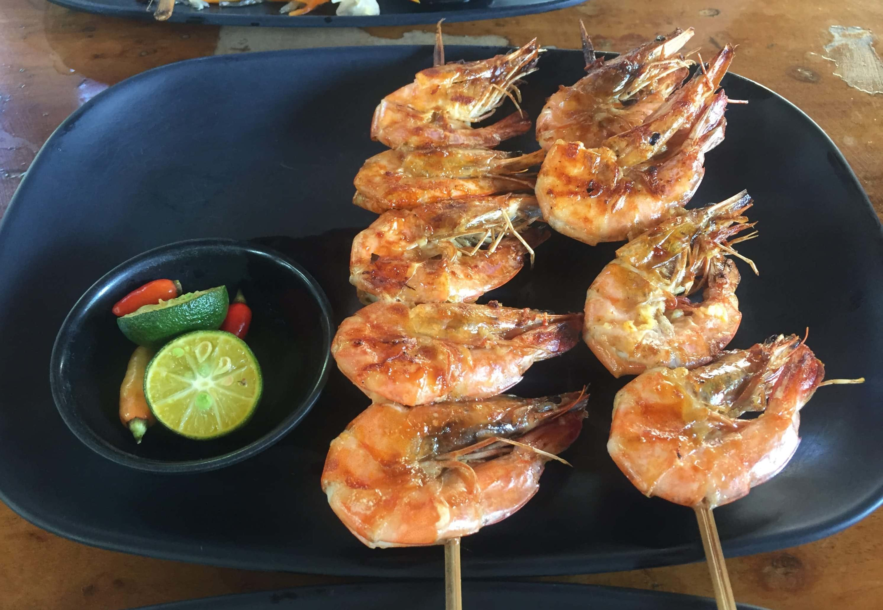 Seafood Garnelenspieße