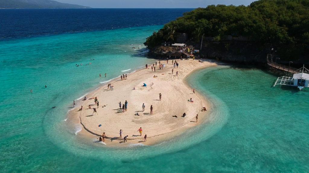 Summon Island Sandbar nahe Oslob, Cebu