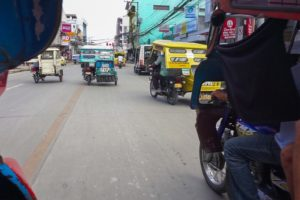 Tricycles in den Philippinen