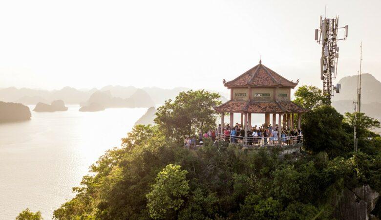 Nordvietnam Rundreise Halong Ti Top Island