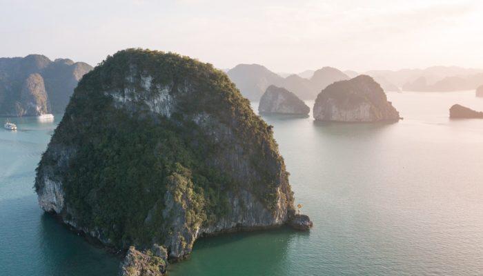 Nordvietnam Rundreise Halong bay