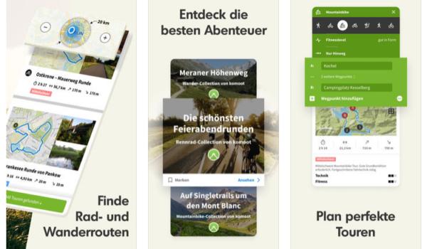 Reise Apps_ Komoot_