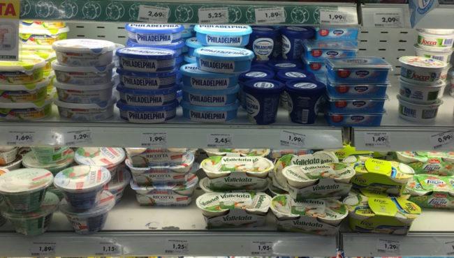 Sardinien Preise_Milchprodukte