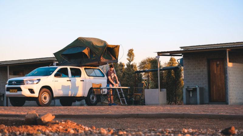 Campingplätze Namibia