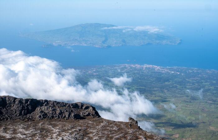 Aussicht vom Pico Berg